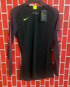 Men's Nike Guardian II Goalkeeper Long Sleeve Soccer Jersey AR9769-010 Size S