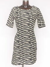 Boat Neck Stretch, Bodycon Striped Dresses for Women