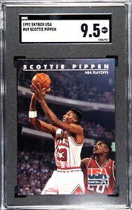 1992 Skybox USA #69 SCOTTIE PIPPEN - SGC 9.5 Mint +
