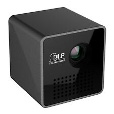 New Pocket Projector LPD Cube HD Video Pico Built-in Battery Audio Splitter USA