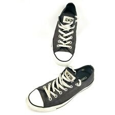 Converse All Star Low Top Unisex Skate Shoes Womens Sz 10 Grey Mens 8