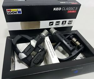 Look Keo Classic 3 Plus Road Clipless Pedal Bicycle Pedal Black