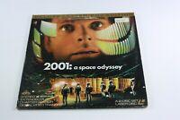2001 A SPACE ODYSSEY Laserdisc STANLEY KUBRICK Rare CULT MOVIE Ntsc 2 DISC