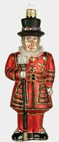 Beefeater Tower of London Guard Guardian Polish Glass Christmas Ornament