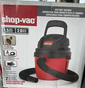 New Shop-Vac 1.5 Gallon Wet/Dry Vacuum Catalog 2030100 Sealed Box