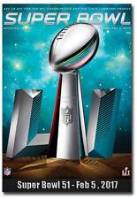 "Super Bowl Li February 5th 2017 Fridge Toolbox Magnet Size 2.5"" x 3.5"""