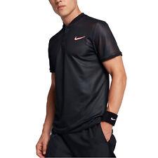Nike Men's Court Advantage Polo Black 854605-010
