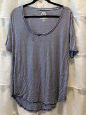 Maurices Size XXL Womens Stripe Shirt Top