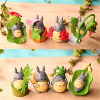 8pcs/set Studio Ghibli My Neighbor Totoro PVC Figure Model Toys Kids Home Decor