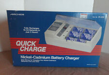 Quick Charge Nickel-Cadmium Battery Charger Radio Shack NEW 23-233