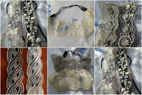 Lace Headband Vintage  Bridal Decor Flapper Wedding Prom