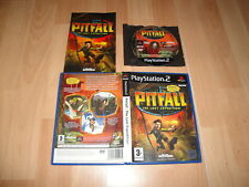 PITFALL THE LOST EXPEDITION DE EDGE OF REALITY PARA LA SONY PS2 USADO COMPLETO