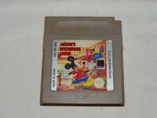 Nintendo GAMEBOY Gioco MICKEY'S DANGEROUS CHASE