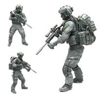 AH-01 1/35 Modern American Army Special Forces A Resin Soldier Model G0W6