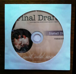 Final Draft 8 Screen Writing Software