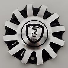 B19 Borghini Wheels Aluminum Center Cap (part# CSB19-2A)