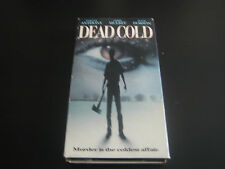 VHS DEAD COLD ***LYSETTE ANTHONY & CHRIS MULKEY & PETER DOBSON***