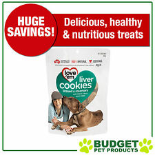 Love em Cookies Linseed And Rosemary Treats For Dogs 450gm