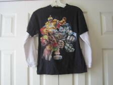 Skylanders Giants T-Shirt~Size M~Black~Long Sleeve~LBDF7