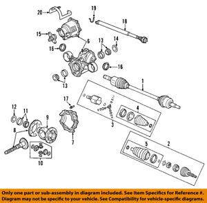 Saturn GM OEM 02-07 Vue Rear Differential-Seal 12569925