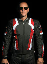 Back Men RST Motorcycle Jackets with CE Approved Armour