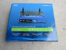 Linksys WRT54GL V1.1  10/100 Wireless G Router