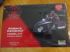 "NIB REVELL MONOGRAM 1:12 MODEL KIT: BATMAN & ROBIN ""ROBIN'S REDBIRD"" CYCLE!!!"