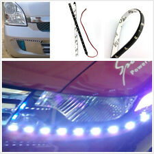 2 Pcs White 15LED 30cm Flexible Vehicles Daytime Running Light Strips For Holden
