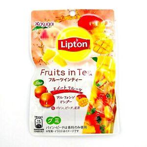Fruits In Tea fruity gummies 4 flavors 1 bag 44g Lipton Kasugai exp 04/2022