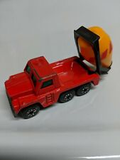 LESNEY MATCHBOX CEMENT TRUCK NO. 19 1976 RED MADE IN UNITED KINGDOM
