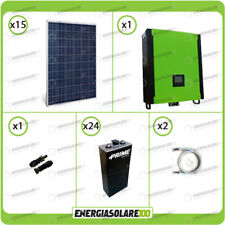 Kit solare fotovoltaico 4.2KW Inverter 5000W 48V regolatore MPPT 10Kw 900Vdc Bat
