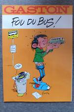 BD gaston lagaffe fou du bus! EO 1987 TBE franquin