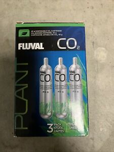 Fluval Plant 45g CO2 Disposable Replacement Cartridges 3-Pack