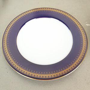 "Romanov Golden Collection Genuine Cobalt Thailand Replacement Salad Plate 8.25"""