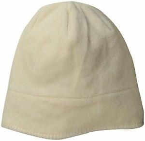 White Sierra Cozy Beanie, Milky White, Youth Small/Medium, Slouchy FIt