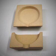 Set: Schmelztiegel / Schmelzschale plus  Deckel; 65 mm; für Gold, Silber, Zinn..
