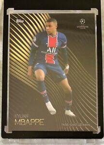 Topps UEFA Champions League Knockout Kylian Mbappe PSG OnDemand Card