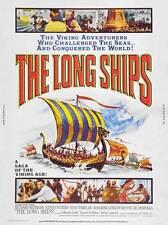 THE LONG SHIPS Movie POSTER 27x40 B Richard Widmark Russ Tamblyn Sidney Poitier