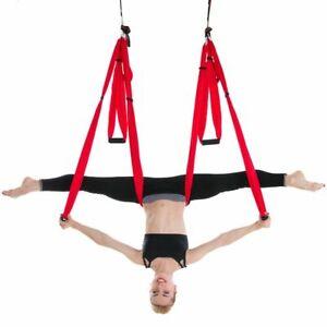 Yoga Belt Hammock Anti-gravity Aerial Straps Fabric Decompression Swing Training