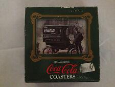 Vintage 1989 COCA-COLA Coasters