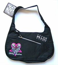 HIM H.I.M. KILLING LONELINESS TWIN HANDS BLACK HAND BAG PURSE NEW NWT OFFICIAL
