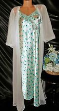 Nightgown, Peignoir Set, size XL/1X by Jaclyn Smith/True Vintage Kayser. Nice.