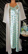 Nightgown, Peignoir Set, size XL/1X by Jaclyn Smith/True Vintage Kayser. Nice.