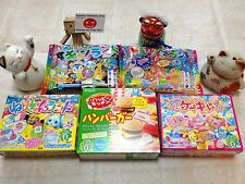 Kracie Popin' Cookin' and Happy kitchen DIY Kit 5 special most popular set !!