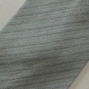 Blue Black Striped Wool Tie