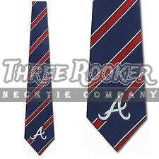 Braves Necktie Mens Officially Licensed Atlanta Braves Ties NWT FREE SHIPPING