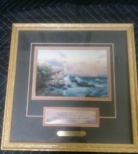 Beacon of Hope Light House Print by Thomas Kinkade with Coa