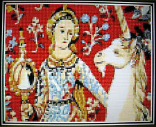 LADY AND UNICORN ~ Counted Cross Stitch KIT #K495