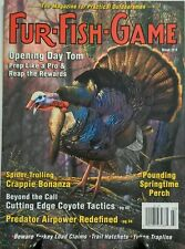 Fur Fish Game March 2016 Opening Day Tom Springtime Perch FREE SHIPPING sb
