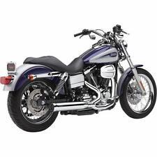 Cobra Chrome Powerpro HP 2:1 RPT Exhaust for 2006-2011 Harley Dyna Models 6469